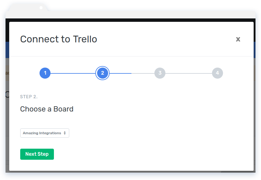 Choose a Trello Board