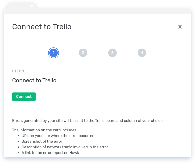 Connect to Trello Integration